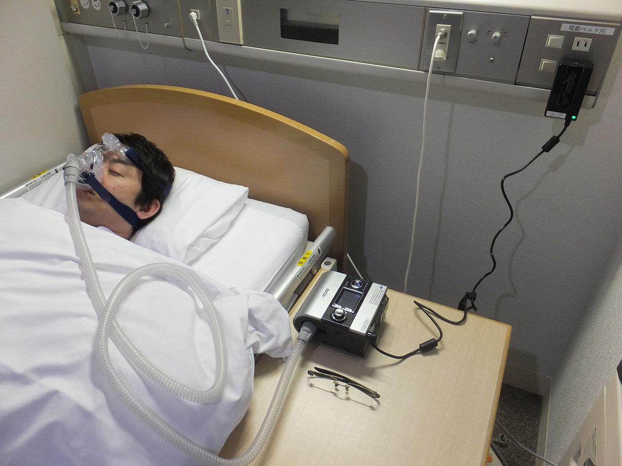 睡眠時無呼吸症候群持続陽圧呼吸療法